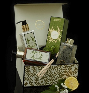 White Grapefruit & May Chang Fragrant Cloakroom Set
