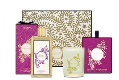 Frangipani & Orange Blossom Bathe By Candlelight
