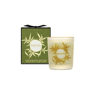 White Grapefruit & May Chang scented candle 70g