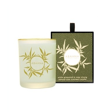 White Grapefruit & May Chang scented candle 180g