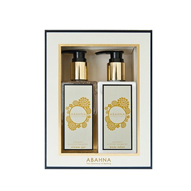 Mandarin & Sicilian Bergamot - shower gel & body lotion set