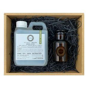 White Grapefruit & May Chang Bath oil gift set