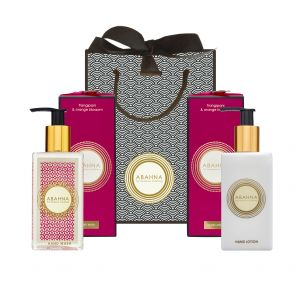 Frangipani & Orange Blossom Hand Wash and Hand Cream Set