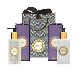 Lilac Rose & Geranium Hand Wash and Hand Cream Set