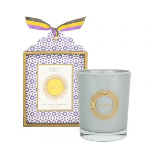 Forest Fig & Vanilla natural wax scented candle 180g