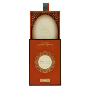 Mandarin & Sicilian Bergamot soap 170g