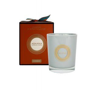 Mandarin & Sicilian Bergamot natural wax scented candle 180g