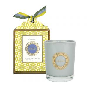 Narcissus & Wild Iris natural wax scented candle 180g