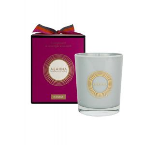 Frangipani & Orange Blossom natural wax scented candle 180g