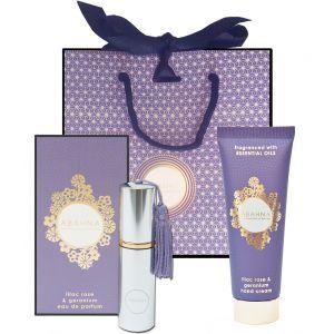 Lilac Rose & Geranium Handbag Classics