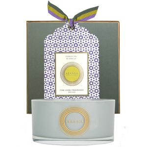 Forest Fig & Vanilla natural wax scented candle 400g