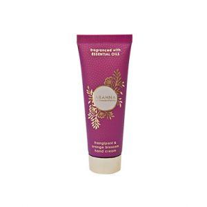Frangipani & Orange Blossom hand cream tube 50ml