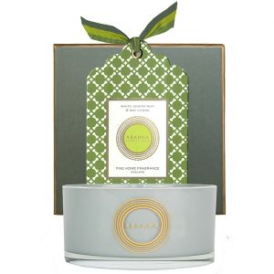White Grapefruit & May Chang natural wax scented candle 400g
