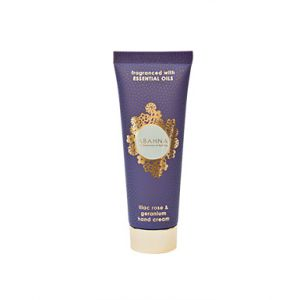 Lilac Rose & Geranium hand cream tube 50ml