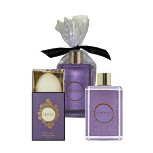Lilac Rose & Geranium Bathing Essentials