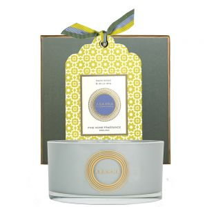 Narcissus & Wild Iris natural wax scented candle 400g