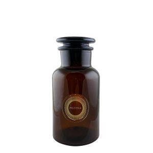 Amber glass decanter 250ml