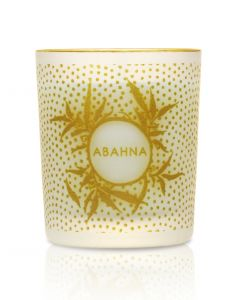 White Grapefruit & May Chang mini scented candle 70g